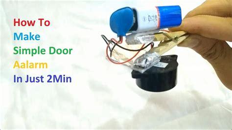 simple door alarm    min diy