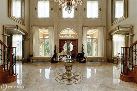 $5.5 Million Stately Brick Mansion In Great Falls, VA