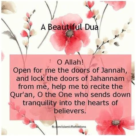 beautiful duaa a beautiful du a o allah open for me the doors of jannah