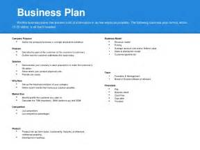 How To Create A Business Plan Template by How To Make A Business Plan Template