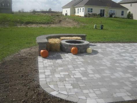 paver pit dimensions 65 best images about paver landscape ideas on