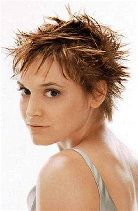 spikey short mature womens hairstyles spiky short hairstyles for women
