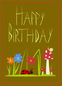free printable happy birthday cards free happy birthday word clipart graphics