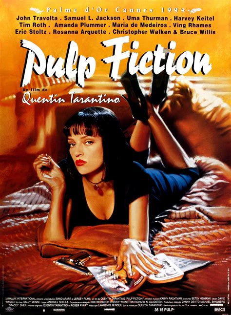 film quentin tarantino pulp fiction pulp fiction film 1994 senscritique