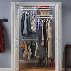 3 Ft Closet Organizer Closetmaid 22875 Shelftrack 5ft To 8ft