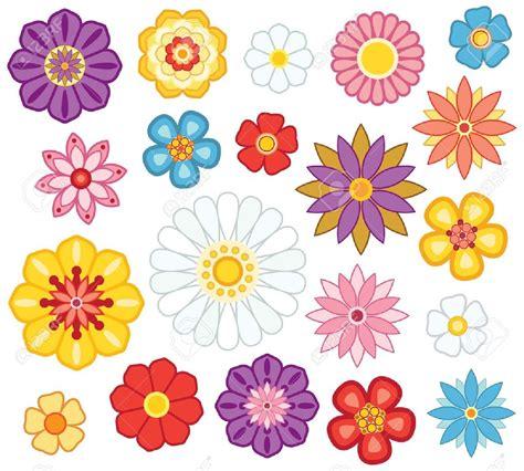 imagenes flores simples simple flores animadas coloreadas para imprimir imagenes y
