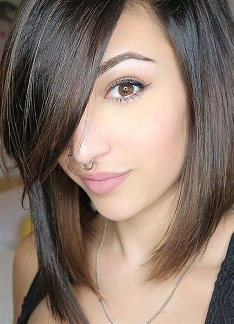 women hairstyle short in back bob thin hair to shoulder 55 short hairstyles for women with thin hair fashionisers