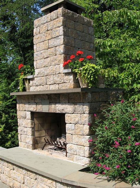best 20 diy outdoor fireplace ideas on small