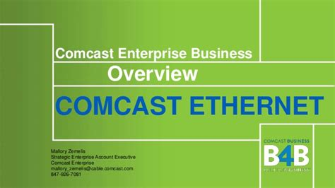 Comcast Business Account Executive by Comcast Enterprise Ethernet Overview