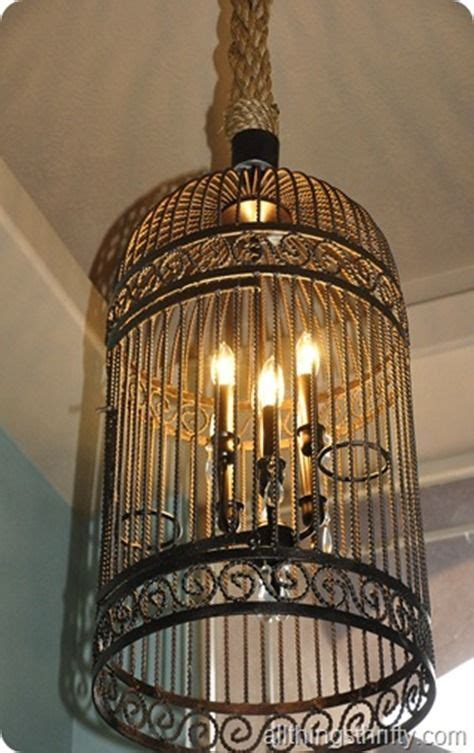 Diy Birdcage Chandelier Birdcage Chandelier For The Home