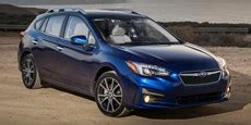 2018 subaru impreza vehicles on display | chicago