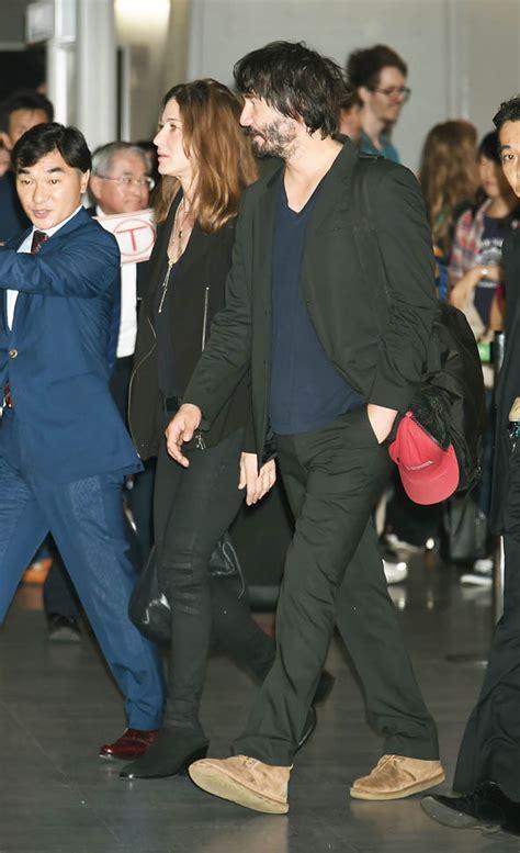 keanu reeves update keanu reeves in japan with his girlfriend to promote john