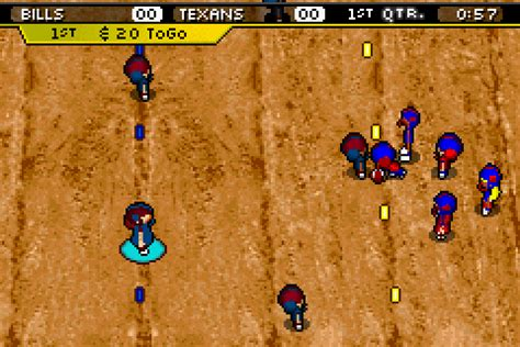 backyard football gba backyard football screenshots gamefabrique