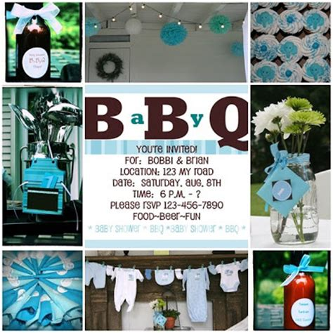 Bbq Themed Baby Shower by Bbq Baby Shower Invitations Diy Show Diy