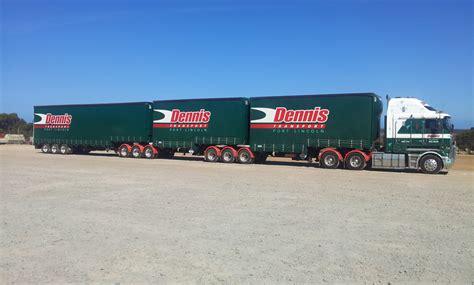 Adelaide Refrigerated Interstate Transport - transport logistics with dennis transportdennis transport