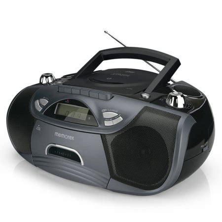 memorex cassette memorex flexbeats portable cassette cd boombox walmart