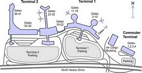 san diego airport map airport terminal map san diego airport terminal map jpg
