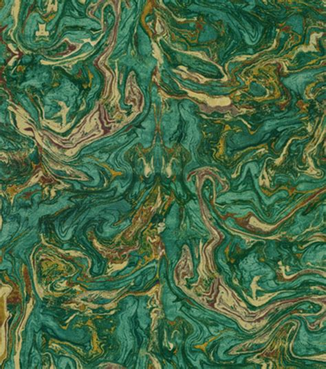 home decor print fabric hgtv home marbleized teal jo