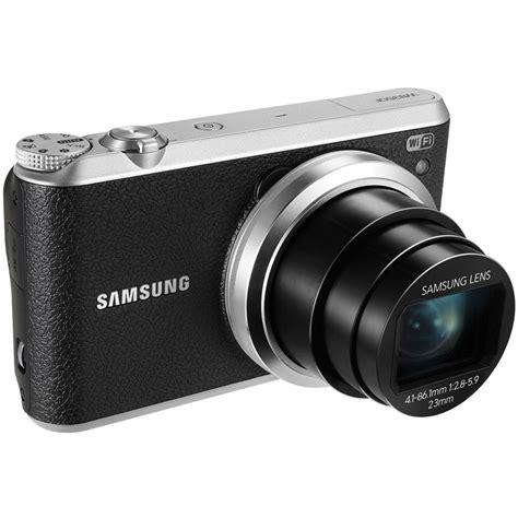 Kamera Digital Samsung Wb350f samsung wb350f smart digital black ec wb350fbpbus b h