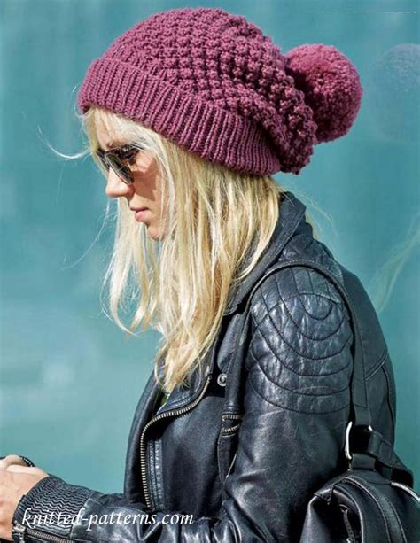 19 cool beanie designs and free hat patterns tip junkie women s beanie knitting pattern free