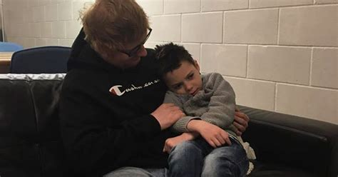 ed sheeran fan presale ed sheeran makes dying fan s wish come true with a