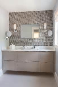 Contemporary Bathroom Vanity Ideas taupe floating bathroom vanity design ideas