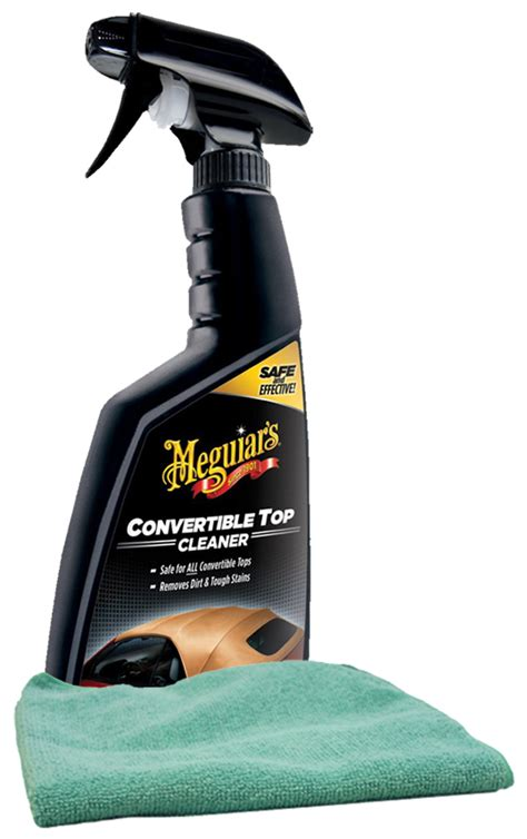 Best Microfiber Cleaner by Meguiars Convertible Top Cleaner 16 Oz Microfiber Cloth