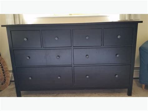 ikea hemnes 8 drawer dresser black brown city