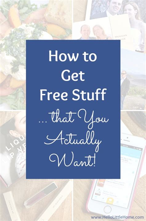 Gets Free Stuff by How To Get Free Stuff That You Actually Want