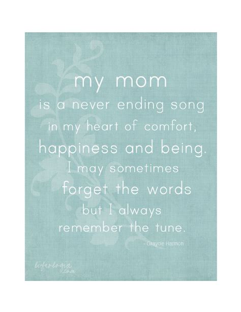 printable mom quotes mother s day quote free printable 8x10 poster