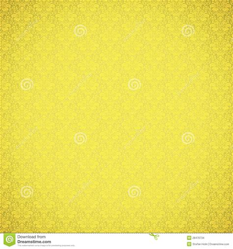 yellow vintage pattern vintage yellow ornate pattern stock images image 28476734