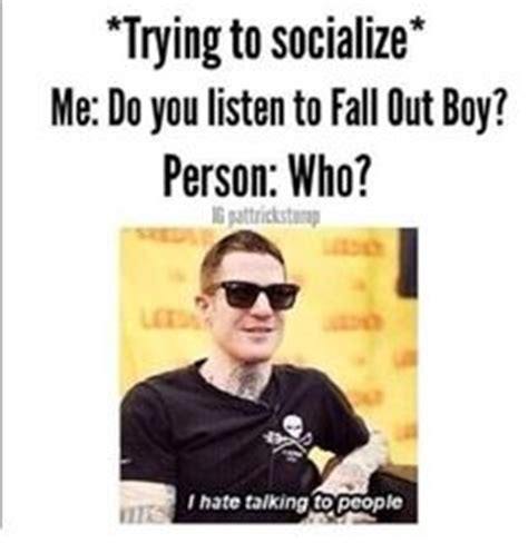 Fall Out Boy Memes - 1000 images about fall out boy on pinterest fall out