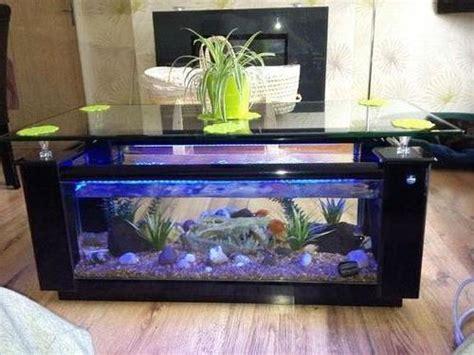 Meja Tamu Aquarium ツ 35 contoh model dan harga meja tamu aquarium unik dari kayu besi