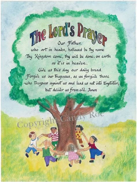 printable children s prayers our father prayer father s prayer and prayers for