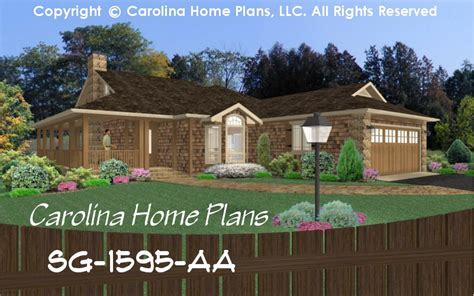 small bungalow style house plans small bungalow style house plan sg 1595 sq ft affordable