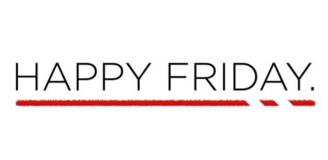 Friday With by Happy Friday