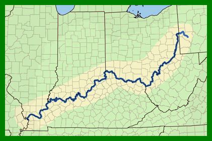 Ohio River Valley Map by Outline Of Ohio Valley Related Keywords Amp Suggestions