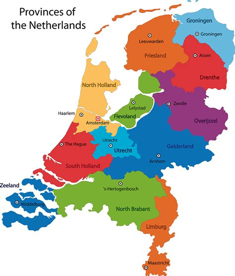 netherlands map images netherlands facts interesting facts about netherlands
