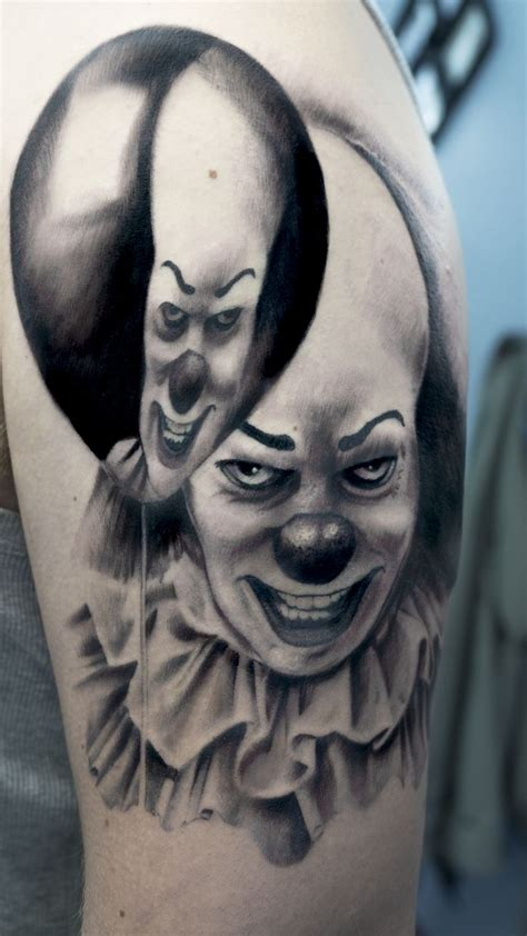 pennywise tattoo www imgkid com the image kid has it