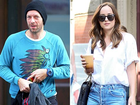 chris martin and chris martin and dakota johnson grab dinner together