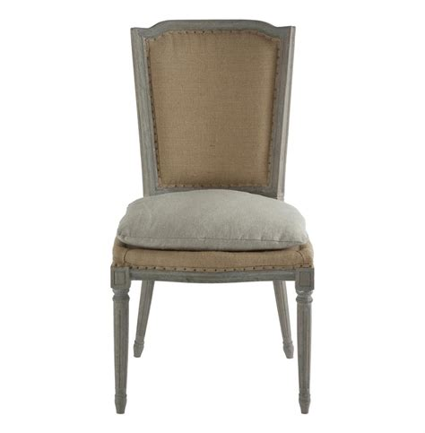 Seat Covers For Dining Room Chairs by Pair Ethan French Country Rustic Hemp Dining Chair With