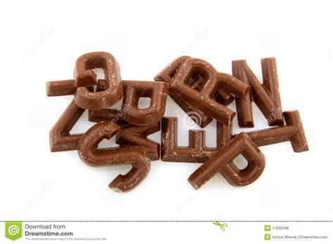 Letter Chocolate Chocolate Letters Royalty Free Stock Photos Image 17030598