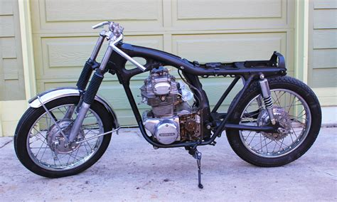 1971 honda cb350 cafe racer project inspiration 301 moved permanently