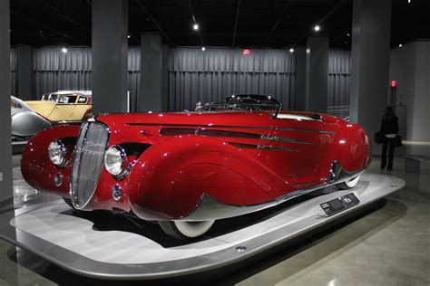affordable deco cars deco delahayes displayed at the petersen