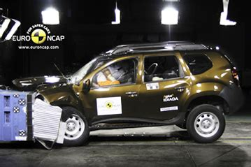 official dacia duster 2011 safety rating results