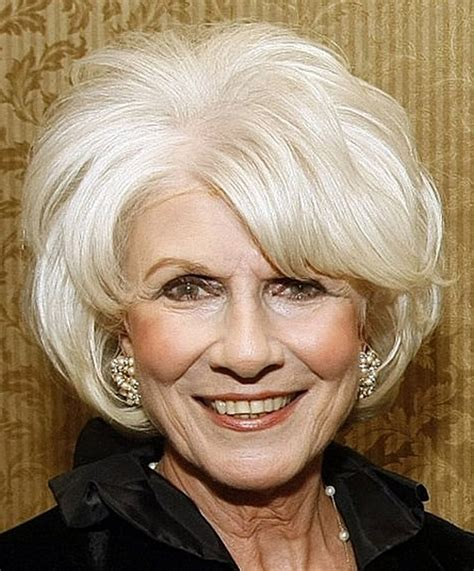 pictures of hairstyles for women over 70 with fine hair short haircuts for women over 70 hair style