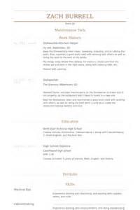 Kitchen Helper Resume samples   VisualCV resume samples