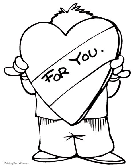heart person coloring page printable pictures of hearts az coloring pages