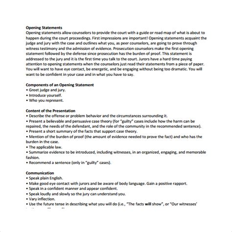 resume opening statement template best best photos resume opening statement exles opening