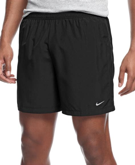 Shortpants Legging Nike Black For Running Fitness lyst nike 5 quot reflective dri fit running shorts in black for